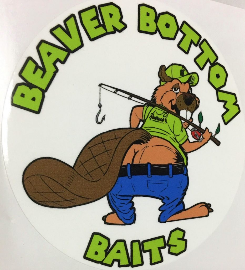 Beaver Bottom Bait Decal