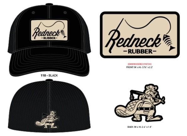 Redneck Rubber Flex Fit Hat