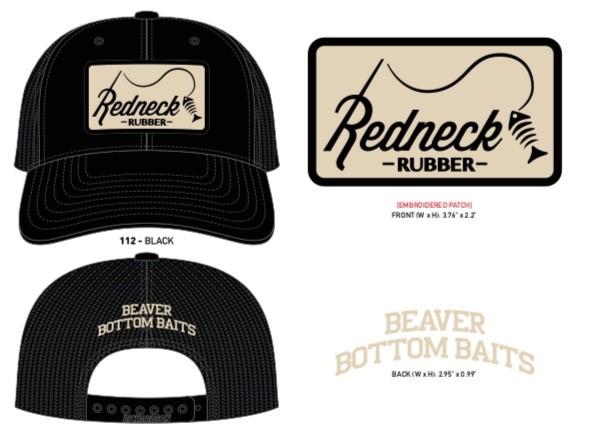 Redneck Rubber Snap Back Hat